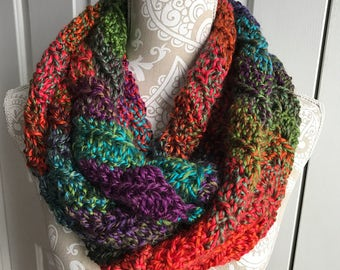 SALE! Garden Party Wave Infinity Scarf