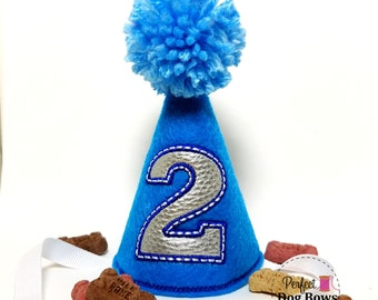 Dog Birthday Hat, Boy Dog Party Hat, Dogs First Birthday, Dog Birthday, Party Hat, Birthday Boy, Gotcha Day
