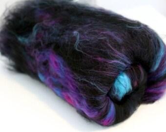 Carded Batt Merino Wool & Nylon Space Odyssey 100g