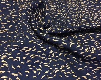Rayon Print Fabric 1-1/4 Yards