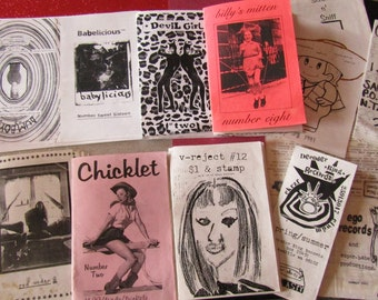 Riot Grrrl Nostalgia zine grab bag #TEN