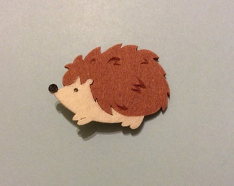Hedgehog Hair Clip