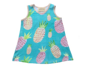 Pineapple print summer dress Supayana