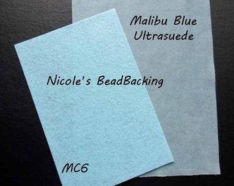 Ultrasuede with Free Nicoles BeadBacking Malibu Blue MC6