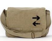 Messenger Bag   Subway ARROWS   Gift for Men   Camera Bag   Crossbody Bag   Travel   Large   Work Gift   Gift for Women   Gift for Boyfriend