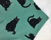Black Cats Catnip Mat For Mew