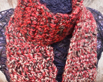 Acrylic and Cotton Scarf (FREE SHIPPING)