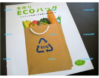 Japanese Pattern Book  Sewing Eco Bags