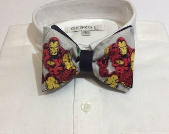 Ironman Bow Tie, Bow Tie, Child Bow Tie, Marvel Comics, Ironman,