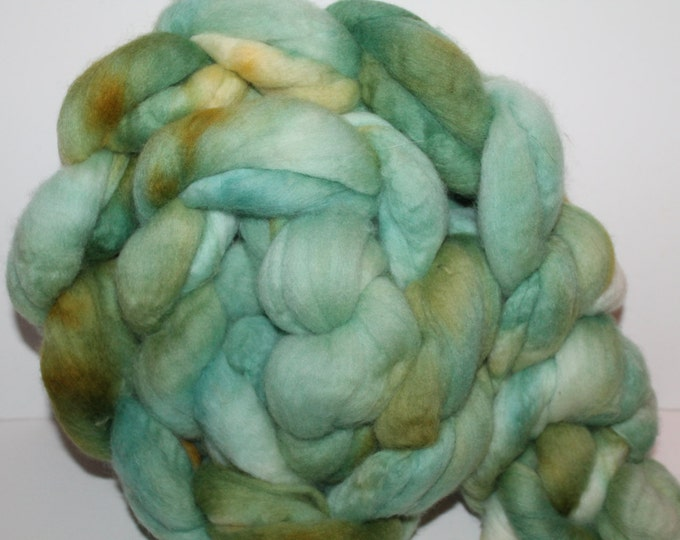 Kette Dyed Polwarth wool top. Roving. Spin. Felt. Super Soft. 1lb. FREE SHIP #P43