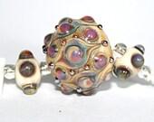 Lampwork  Art Beads by Jeanniesbeads #1812