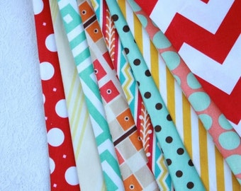 Entire Shop On SALE Carnival Themed Bunting, Ready to Ship Fabric Flag Birthday Party Banner,  Gender Neutral Banner, Photography Prop, Wedd