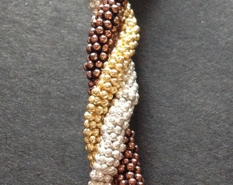 Gold, Copper or Silver Flower Spacers Set of 21 Your choice