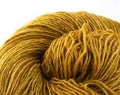 Olana fingering weight cormo alpaca angora blend yarn 300yds/274m 2oz/57g Goldenrod