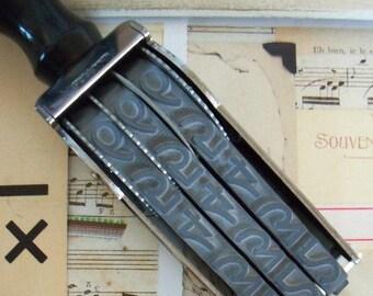 Pullman / Large Numberer / Three Bands / Steel Frame / Wood Handle