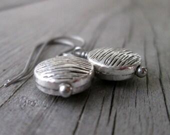 Hypoallergenic - Every Day Earrings - Silver Earrings - Titanium Earrings - Pure Titanium - Gift Idea - Everyday Earrings - Dangle Earrings