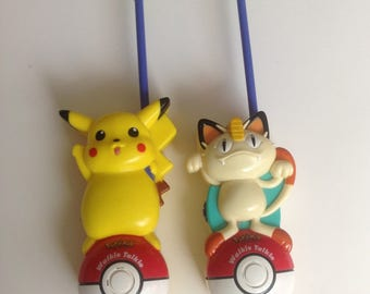 Vintage Pokemon Walkie Talkie Toy Tiger