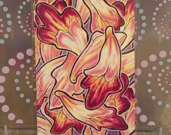 """Flowers - 6x4"""" Matte Art Print"""