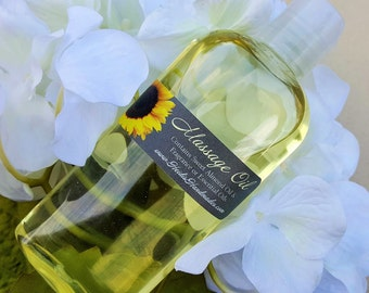 Massage Oil - Body Massage Oil - Sweet Almond Oil Massage