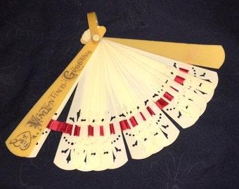 Lady's Vintage Valentine Fan