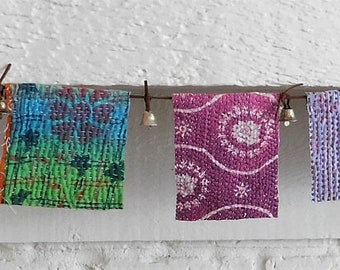 KANTHA Bunting Boho Prayer Flags