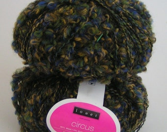 YARN CIRCUS Louet Multi Color 05 Lot 17611 Approx 50 grams approx 110 yards wool Cotton CLEARANCE Sale