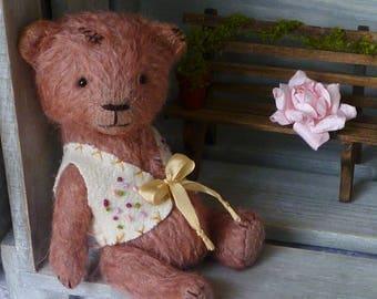 OOAK Handmade 5.5 inch Mohair Artist Teddy bear Thomas