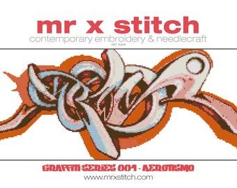 Graffiti Cross Stitch #001 - Aerotismo