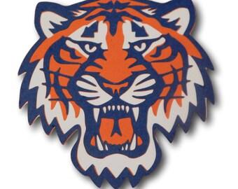 Detroit tigers logo | Etsy