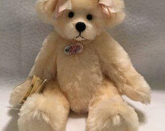 Handmade Artist Mohair Collectible Teddy Bear by Under The Apple Tree