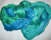Handpainted Egyptian Cotton Yarns - RESERVED for Linda Hill