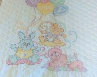 Baby Love baby blanket, crib quilt