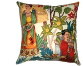 Frida Mexican Art Throw Pillow Decorative Pillow Home Decor Bedding/Day of the Dead