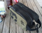 Toiletries Bag - Travel Bag - Dopp Kit - Dopp Bag - Wash Bag