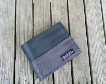 Mens Seatbelt Wallet - Recycled Wallet - Seat Belts