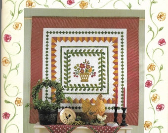 Quilt Book | Meadow Rose  | Cabbage Rose | Barbara Brandeburg | Quilting Book | Quilt Patterns | Patcchwork Patterns | Applique Patterns