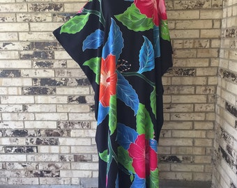 Extra Long Plus Size Premium Rayon Caftan