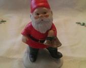 Adorable Santa Gnome Christmas Figurine