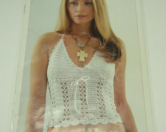 Crochet Halter, Shawl And Camisole Patterns From Patrons Designer Series Pocket Pattern Book