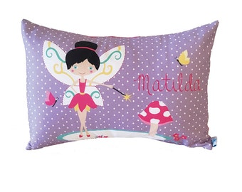 Fairy Personalised Girls Cushion