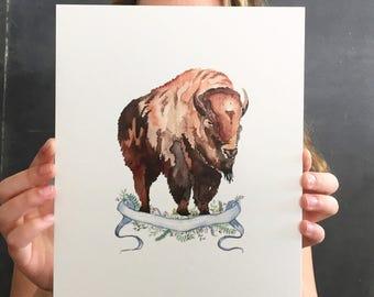 The National Park Megafauna Poster Collection