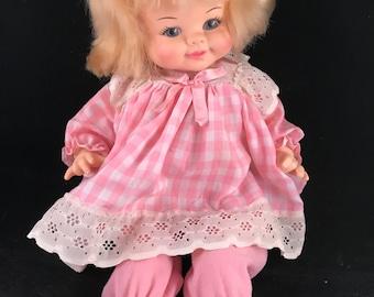 Vintage 1969 Horsman Doll with Blonde Hair