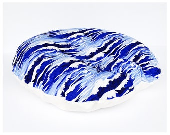NEWBORN LOUNGER SLIPCOVER / Zipper closure/ Oceanus cotton print with soft ivory Flat minky / modern baby nursery gift/ Brand new fabric!