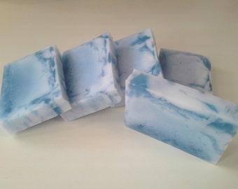 Sea Island Cotton Soap - Goats Milk and Glycerin swirl bar