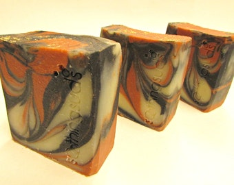 Winter Grapefruit - Handmade Olive Oil & Mango Butter SILK Soap, Hot Processed Artisan Soap, Soothing Suds Soap