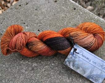 LIMITED EDITION BASE - Sportweight 8 ply - Orange Spice Colorway