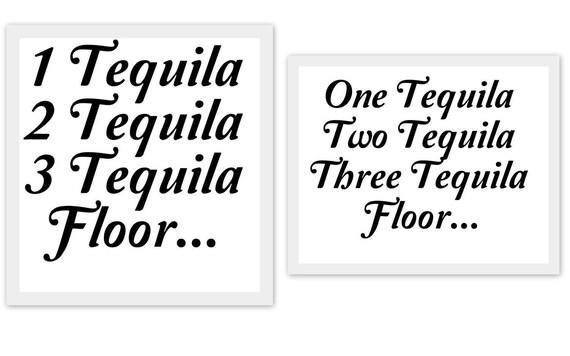 1 Tequila 2 Tequila 3 Tequila Floor Svg Studio3 Pdf