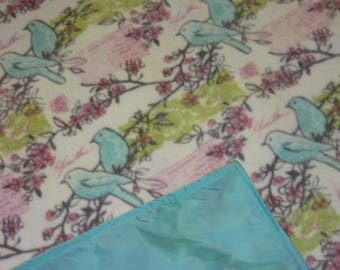 Waterproof Picnic Blankets - Picnic Blankets - Blue Birds