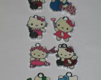 Hello Kitty Charms for Art and Craft