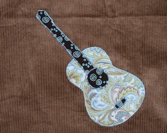 Guitar Skirt Brown Corduroy